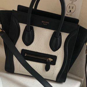 Celine Luggage Mini Handbag